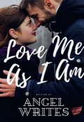 """Book cover """"Love Me As I Am"""""""