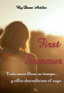 "Libro. ""First Summer"" Leer online"