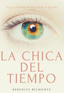 "Portada del libro ""La chica del tiempo"""