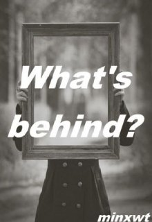 """Book cover """"what's behind?"""""""