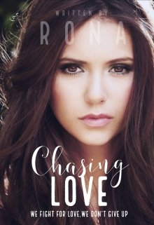 """Book cover """"Chasing Love"""""""