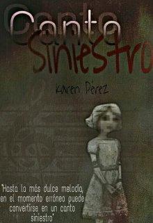 """Libro. """"Canto siniestro"""" Leer online"""