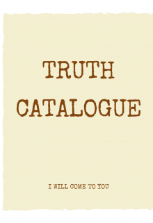 "Book. ""Truth Catalogue"" read online"