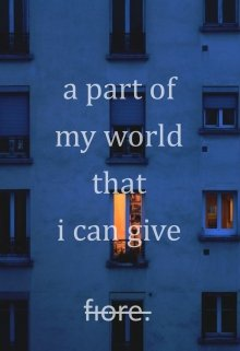 "Libro. ""a part of my world that i can give"" Leer online"