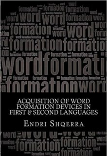 "Book. ""Acquisition of Word Formation Devices in L1 & L2"" read online"