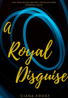 """Book cover """"A Royal Disguise """""""