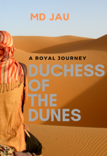 """Book cover """"Duchess of the Dunes"""""""