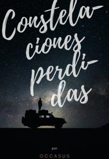 """Portada del libro """"Constelaciones perdidas© """""""