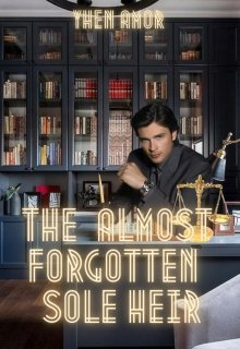 """Book cover """"The Almost Forgotten Sole Heir"""""""