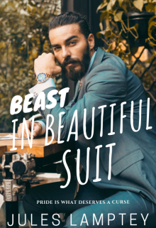 """Book cover """"Beast In Beautiful Suit"""""""