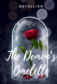 """Book cover """"The Demon's Omelette """""""
