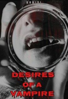 "Book cover ""Desires of a Vampire"""
