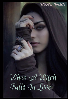 """Book cover """"When A Witch Falls In Love"""""""